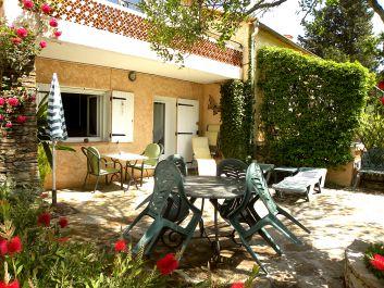 Studio de l'ADRET - La terrasse