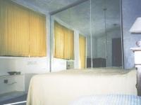 Chambre à l'étage de la Villetta