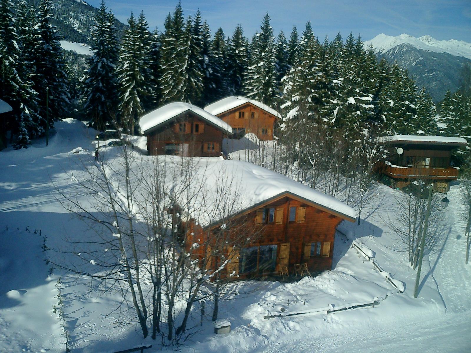 location chalet ski valmorel
