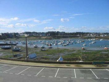 vue du studio sur le port