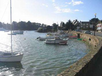vue du studio sur le port pleine mer