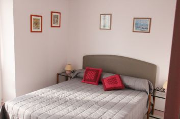 La chambre avec un lit de 160X200