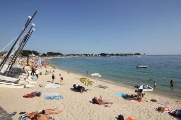 La grande plage de Bénodet