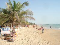 La magnifique plage d'Obama.