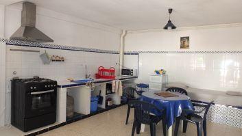 La cuisine salon du RdC, pour 4 personnes