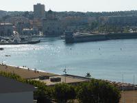 vue nouveau port St Raphaël