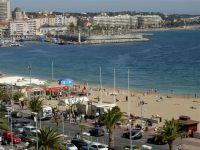 vue port de St Raphaël