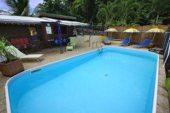 notre piscine pour un moment de repos après une journée découver