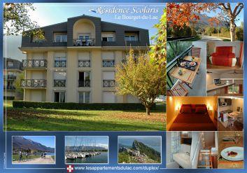 Brochure publicitaire du Studio-Duplex à la Résidence Scolaris a