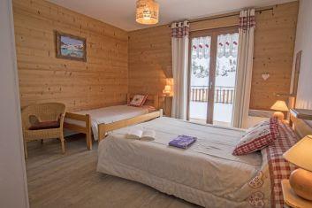 Chambre lit simple