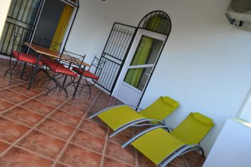 Terrasse ( étage ).