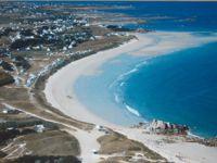 Accès direct a la plage des Amiets