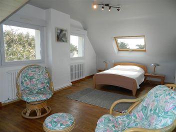 Chambre avec salon privé vue panoramique à 180°