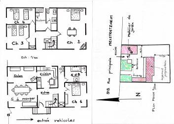 Plan des lieux