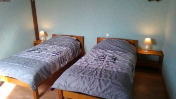 chambre 2 étage 2 lits 0,90