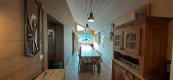 salle de jeux + sauna