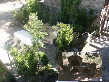 Le jardin et le barbecue
