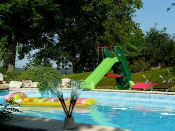 piscine privée  leygues