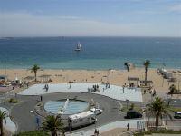 balcon vue de face mer