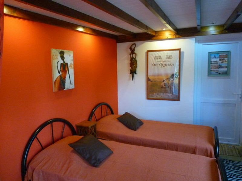 chambre du chalet Out of Africa