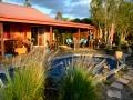 la maison d'hôtes et sa piscine