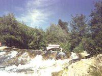 Le pont de Veaux et la rivière