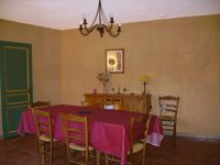 La salle à manger de la Berie