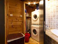 Lave-linge, sèche-linge, aspirateur, fer et table à repasser