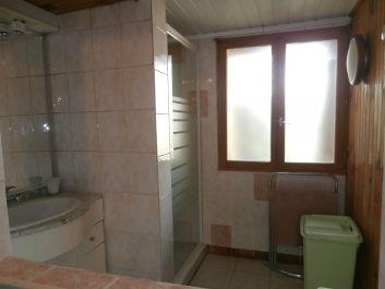 salle d'eau n°2 (douche+lavabo sur vasque)