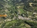 localisation par rapport au village de Saint Nazaire le Désert