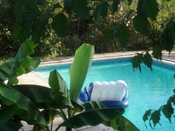 piscine dans son cadre