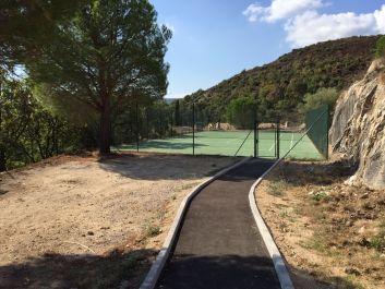 le Tennis de la copropriété