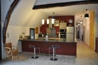 la cuisine rez de chaussée Brivezac Corrèze vallée de la Dordogn