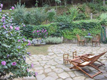 l'Autre Temps - terrasse et jardin privatifs