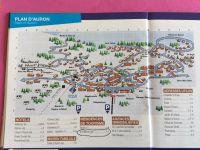 Plan d'AURON avec position de la résidence LE SAINT ETIENNE
