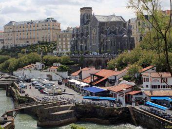 Le Biarritz authentique, le Port Vieux et petit resto sympa