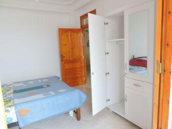 chambre lit double  12 m2 vue sur mer