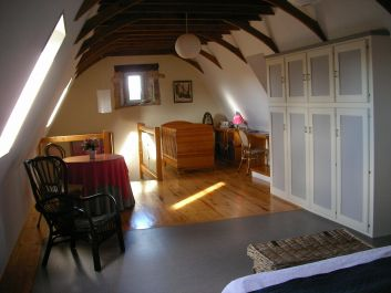chambre 1, avec rangements