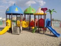 Jeux pour les enfants à la plage