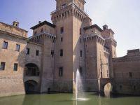 Le château Estense à Ferrara