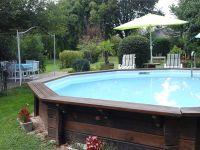 piscine et pergola attenante