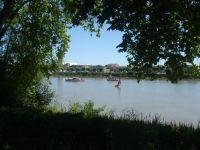 la Dordogne devant la propriété
