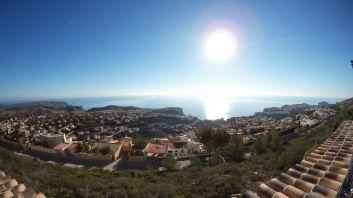 Panorama -  Vue de la terrasse sur la mer
