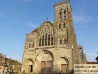 La basilique de Vézelay, à 17km de St Moré.