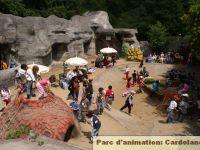 Le parc préhistorique de Cardoland.