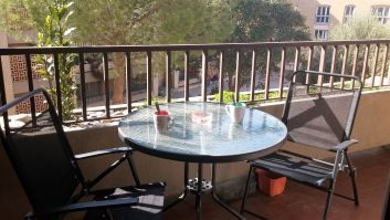 Balcon aménagé
