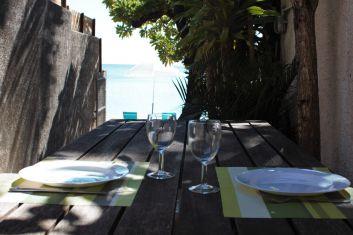 Table vue sur mer