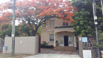 Entrée de la Villa Ylang