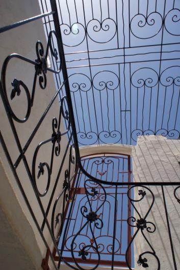 sécurité accès terrasse