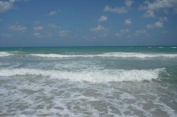 le mer est belle
